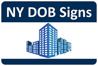 NY DOB Signs